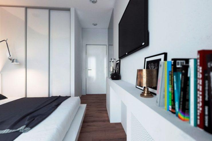 Белая спальня 50