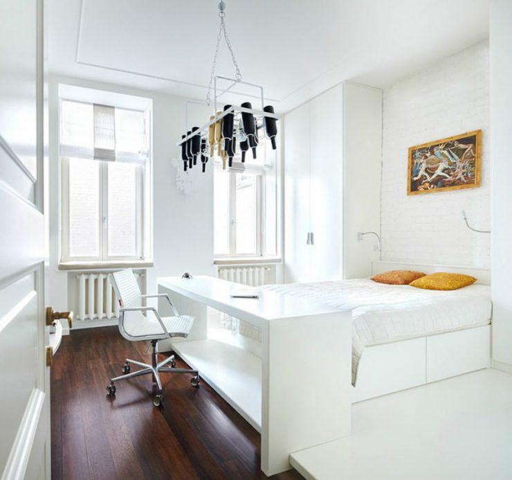 Белая спальня 28