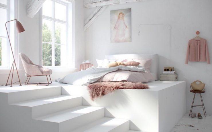 Белая спальня 37