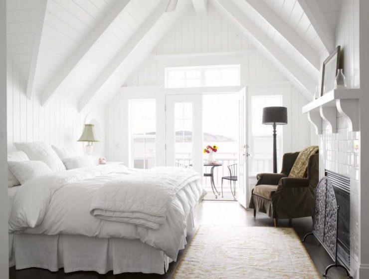 Белая спальня 10