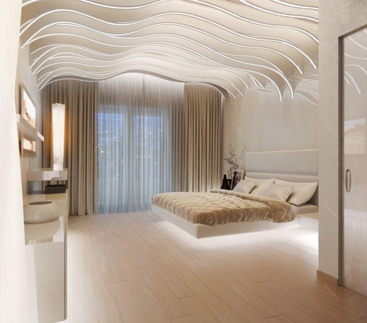 Декор спальни 56