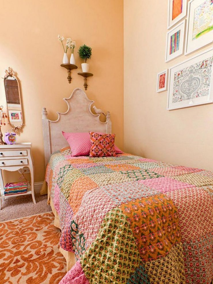 Персиковая спальня 33