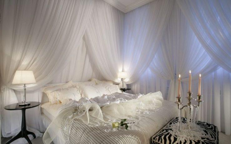 Белая спальня 6