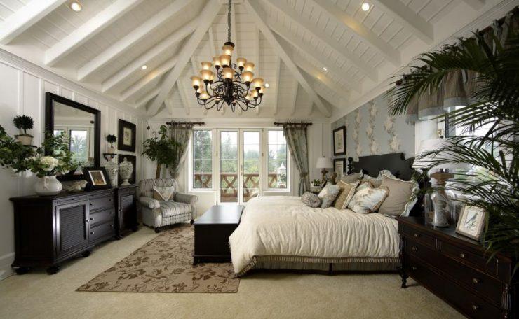 Как украсить спальню 67