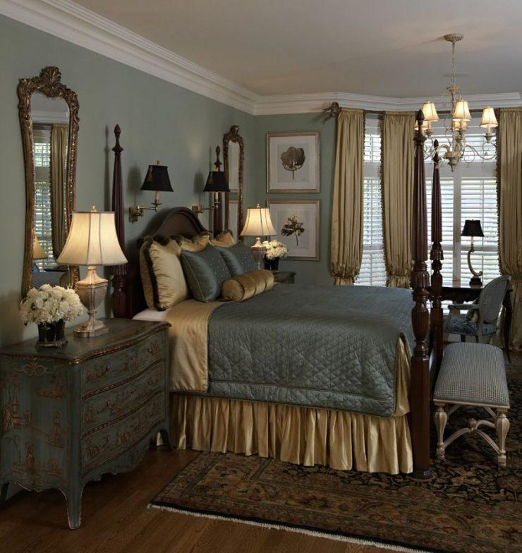 Классические спальни 5