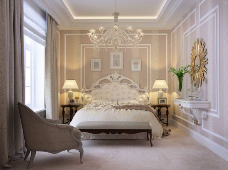 Классические спальни 21