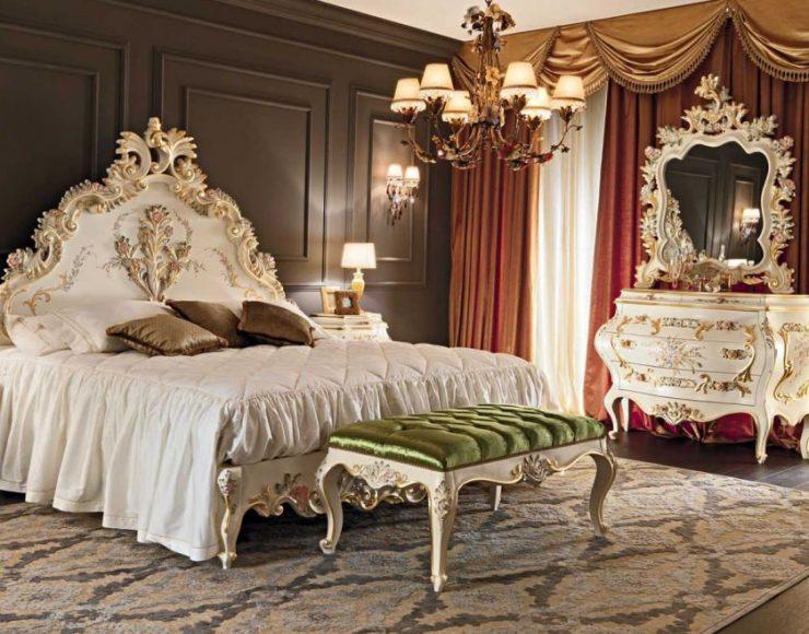 Классические спальни 7