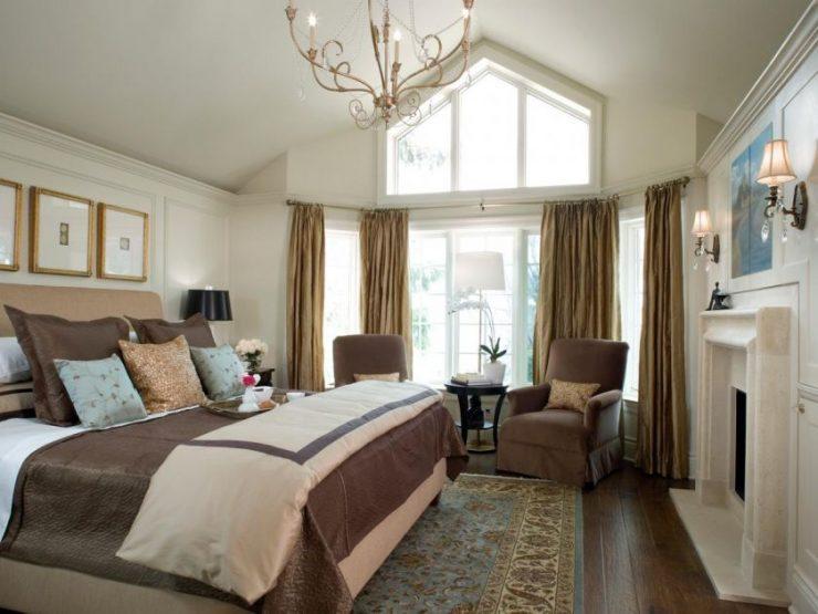 Классические спальни 10