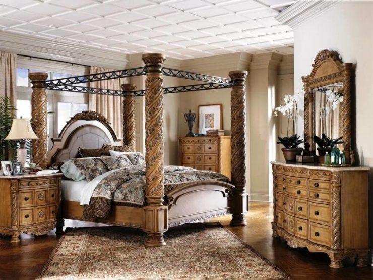 Классические спальни 14
