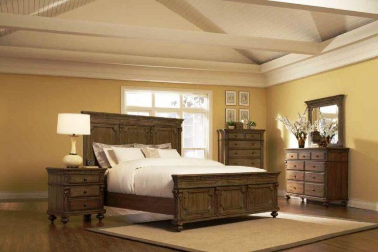 Классические спальни 16