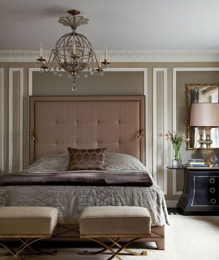 Классические спальни 12