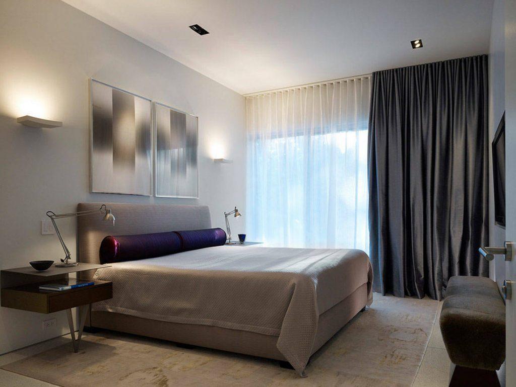 Шторы современный дизайн спальня