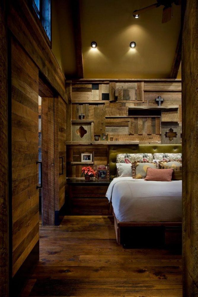 Коричневая спальня 17