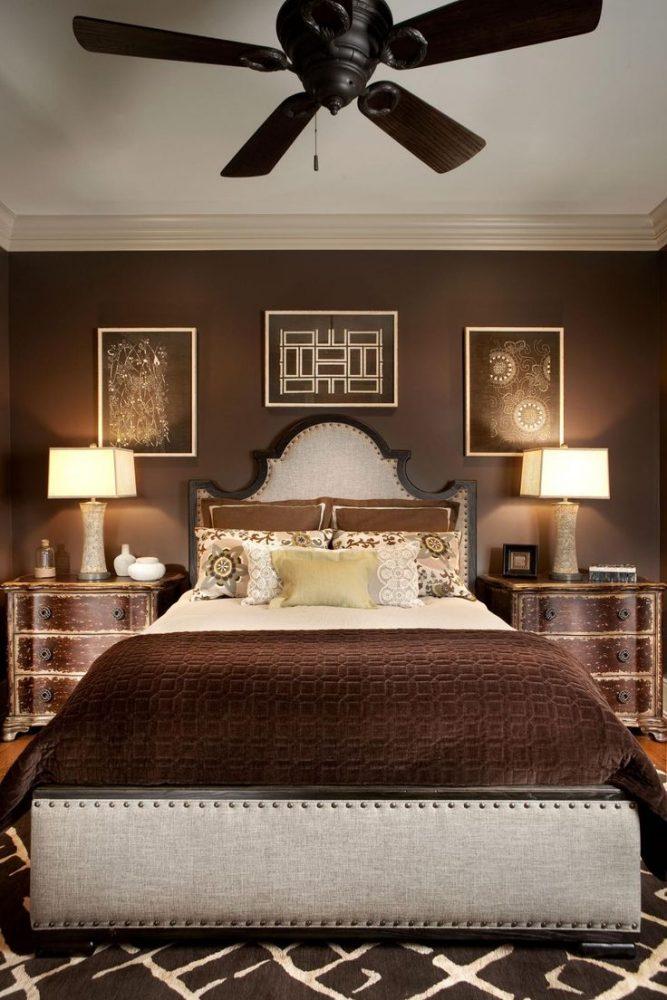 Коричневая спальня19