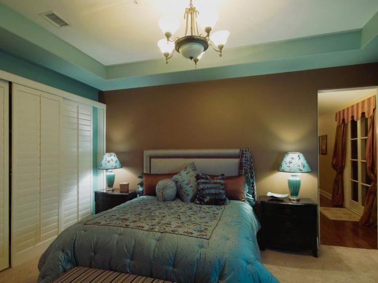 Коричневая спальня 20