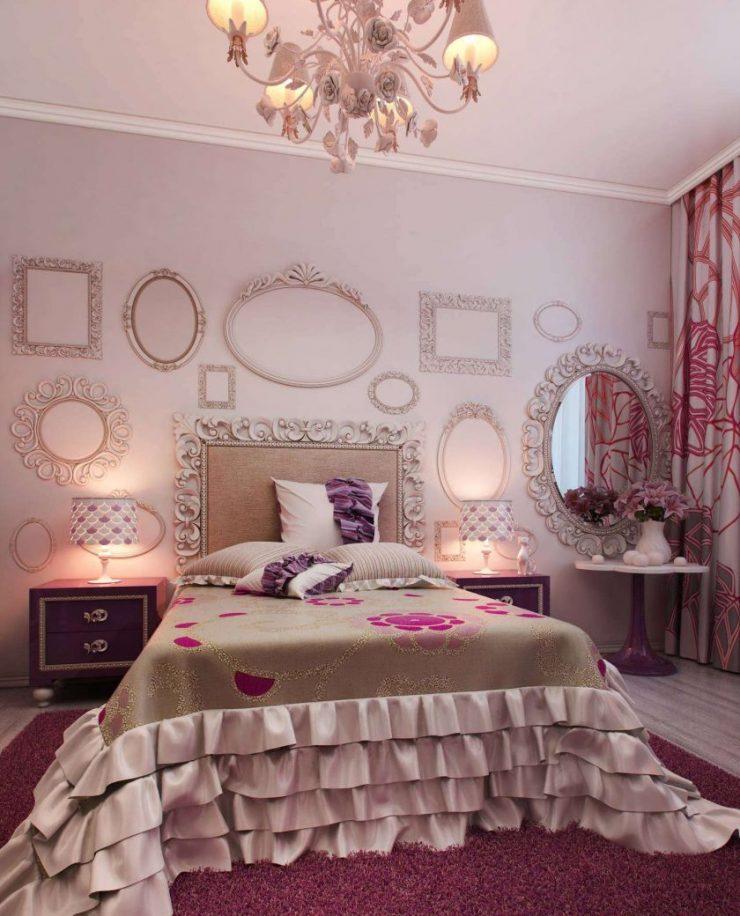 Лиловая спальня 20