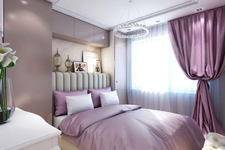 Лиловая спальня 13