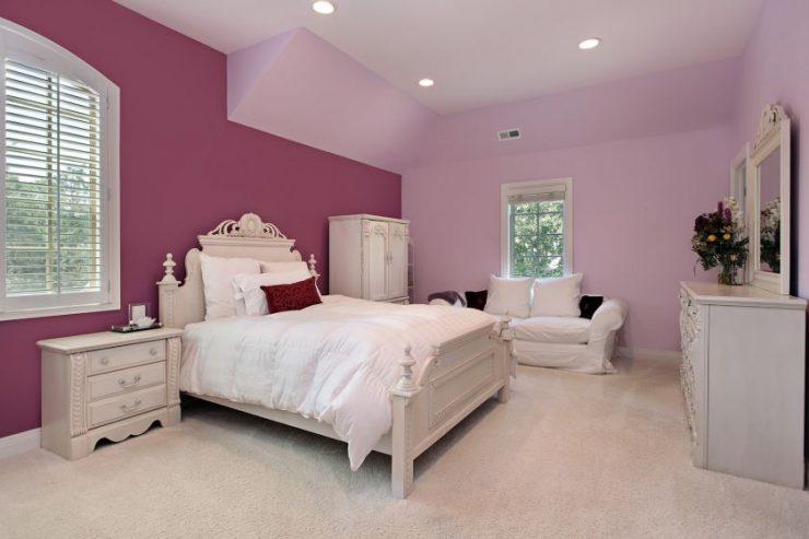 Лиловая спальня 15