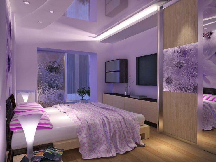 Лиловая спальня 19