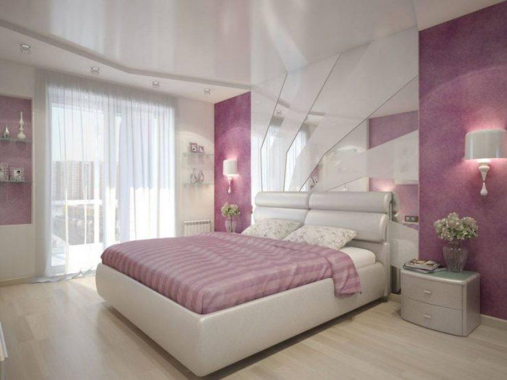 Лиловая спальня 16