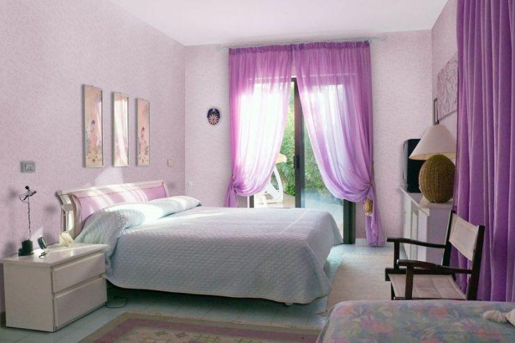 Лиловая спальня 18
