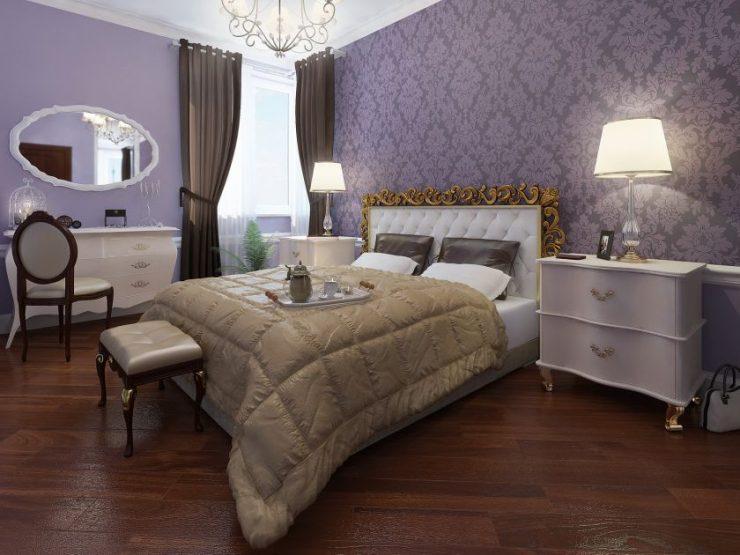Лиловая спальня 14