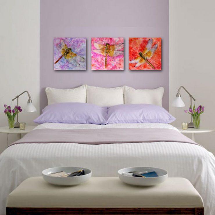 Лиловая спальня 28