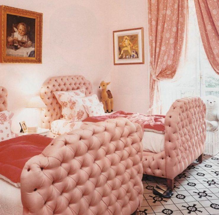 Персиковая спальня 40