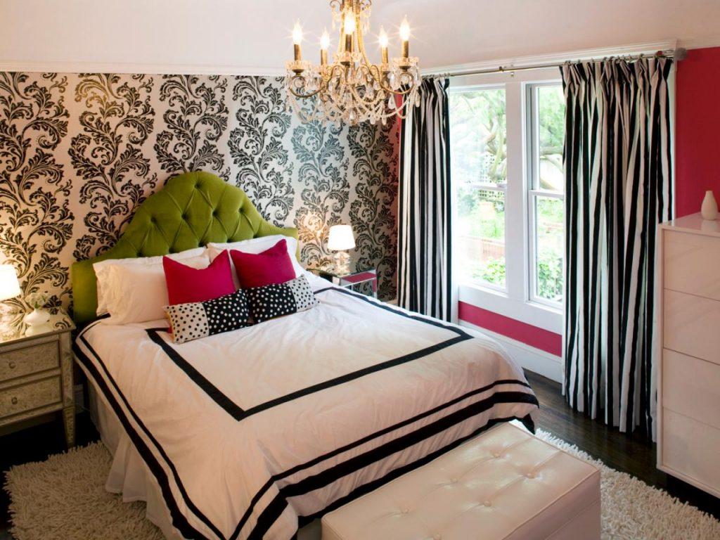 Идеи для обоев в спальне фото идеи