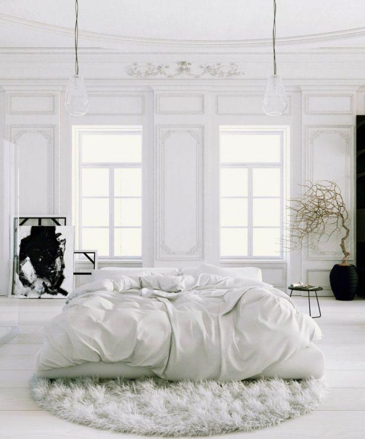 Белая спальня 7