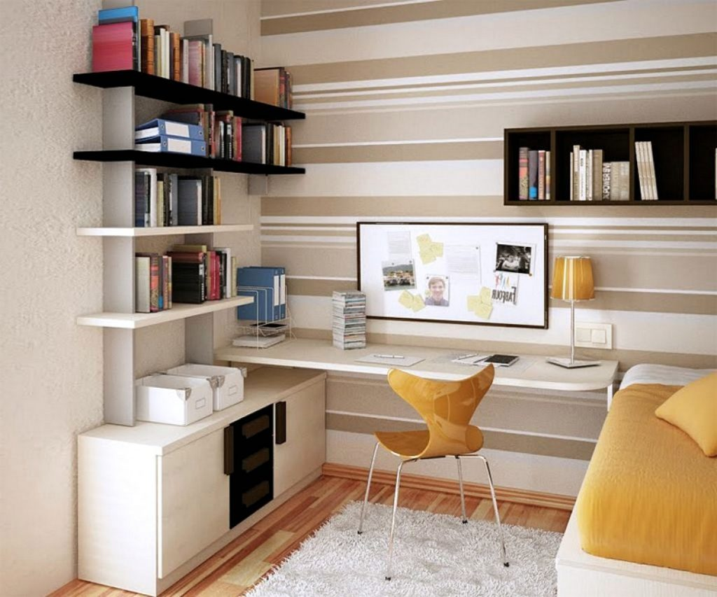 Спальня-кабинет интерьер фото