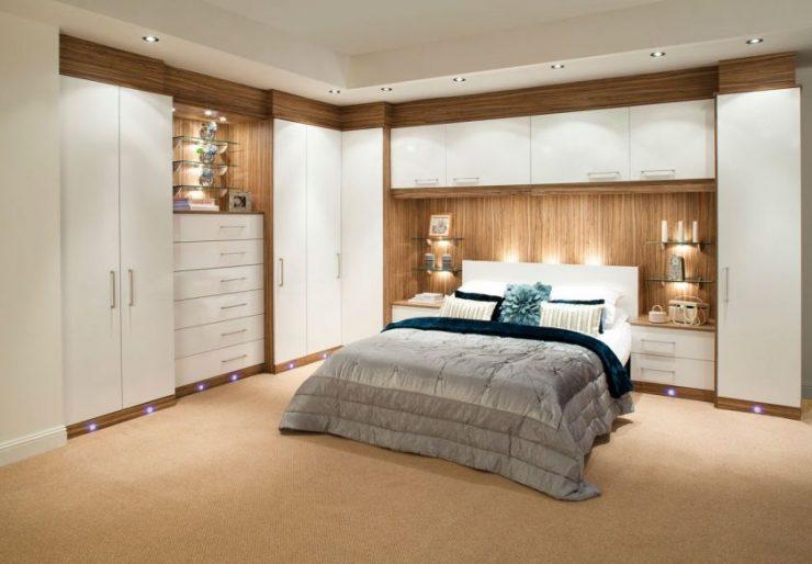 Шкаф в спальню 10