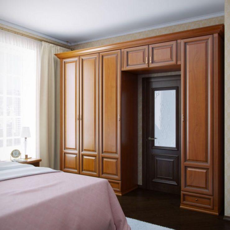 Шкаф в спальню 11