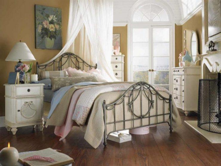 Спальня шебби шик 9
