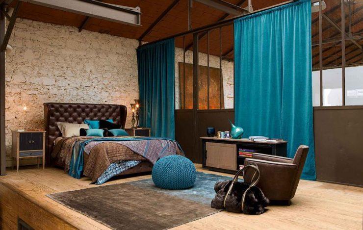 Сочетание цвета в спальне 1