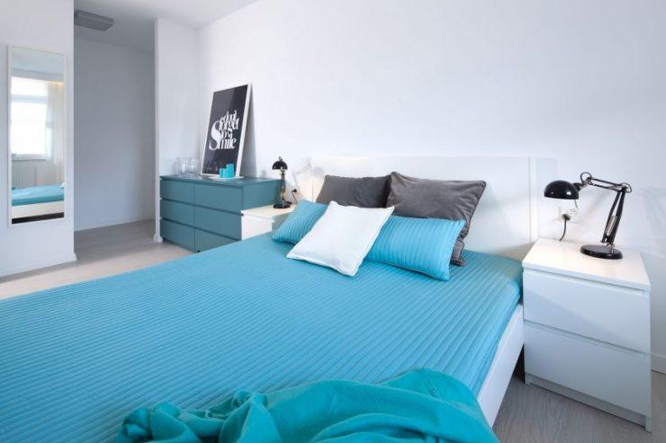 Сочетание цвета в спальне 7