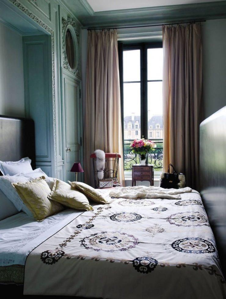 Сочетание цвета в спальне 90