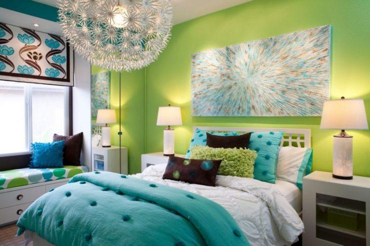 Сочетание цвета в спальне 15