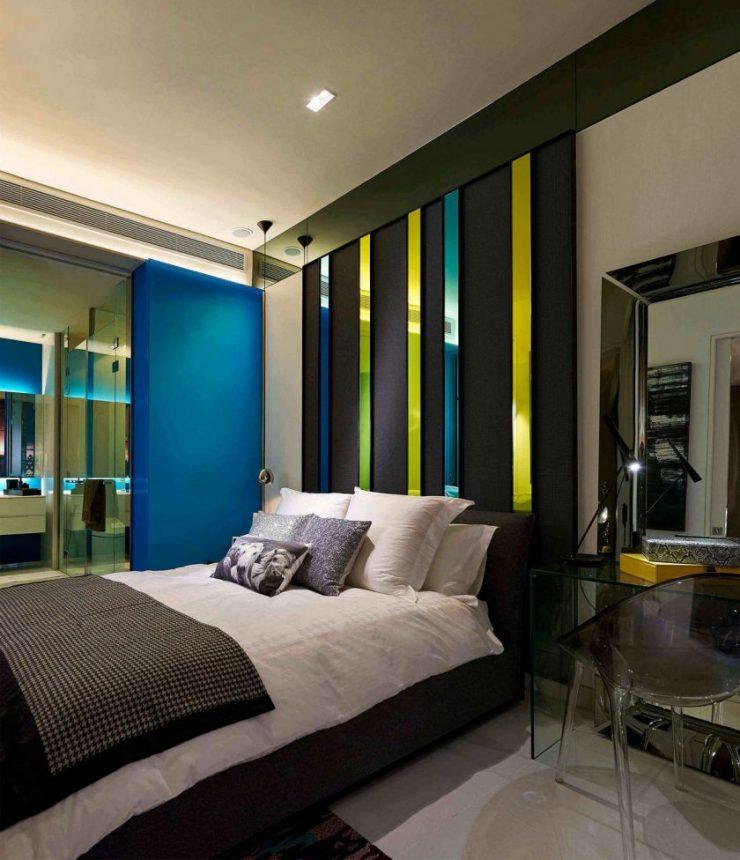 Сочетание цвета в спальне 22