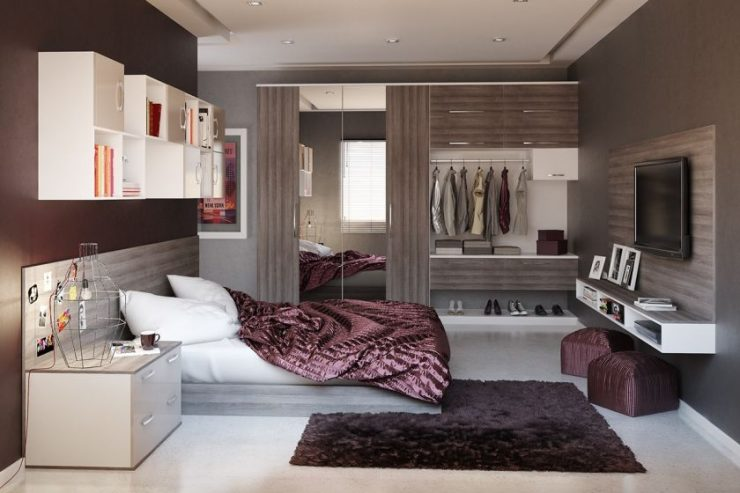 Современные спальни 10