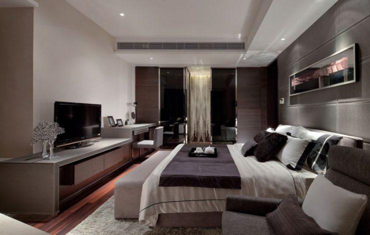 Современные спальни 13