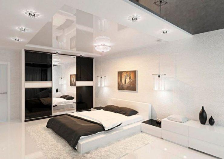Современные спальни 12