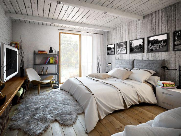 Современные спальни 17
