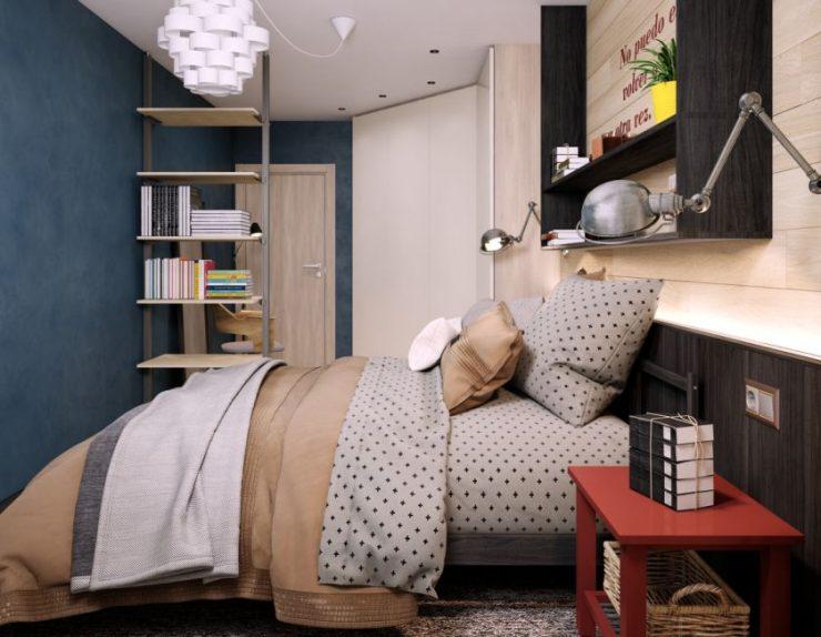 Современные спальни 18
