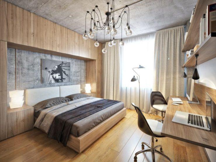 Современные спальни33