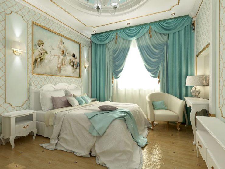 Голубая спальня 5