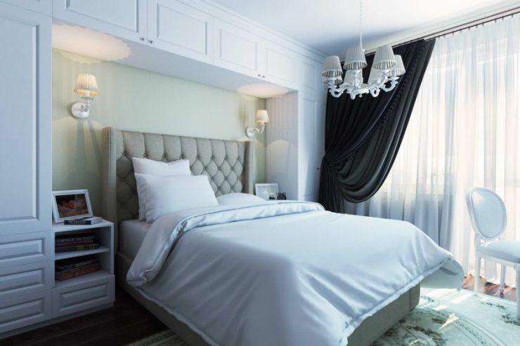 Спальня 18 кв. м.