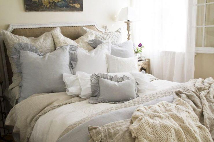 Спальня шебби шик 14