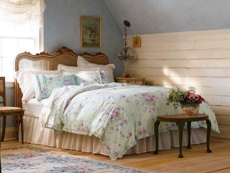 Спальня шебби шик 18