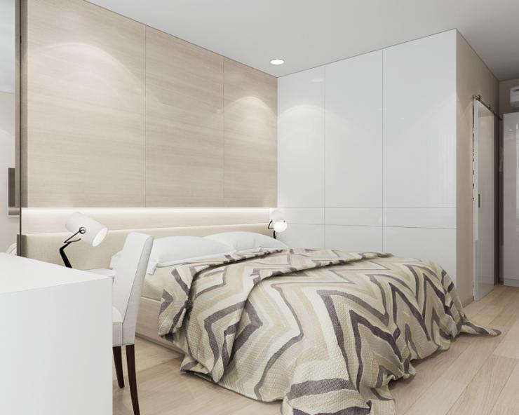 Спальня в квартире 37